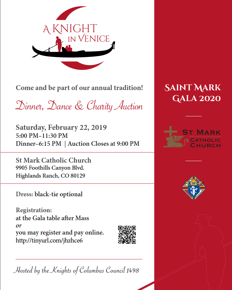 Knights of Columbus Gala 2020